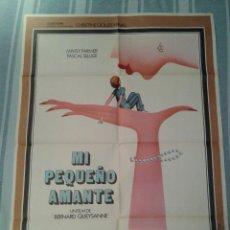 Cine: POSTER ORIGINAL CINE: MI PEQUEÑO AMANTE - 70X100 - BERNARD QUEYSANNE - 1978. Lote 51212787