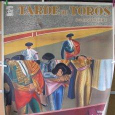 Cine: TARDE DE TOROS 2 HOJAS 140X100. Lote 57540174