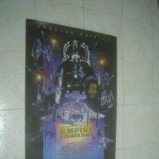 Cine: DETALLES DE STAR WARS. POSTER DE EL IMPERIO CONTRAATACA. 97X67,5 CM. . Lote 51472564