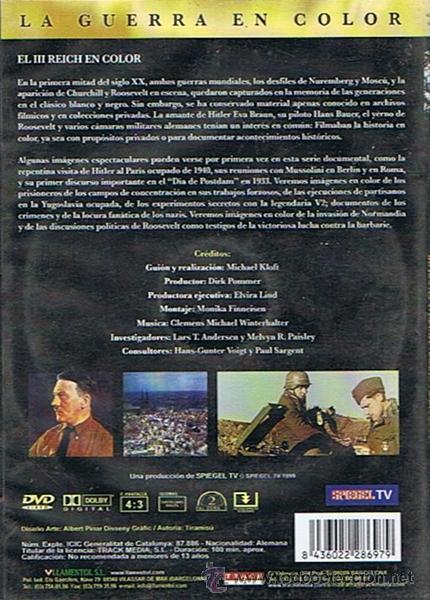 Cine: DVD EL III REICH - Foto 2 - 51540323
