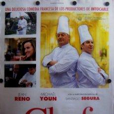 Cine: CARTEL DE LA PELÍCULA EL CHEF. Lote 51545144