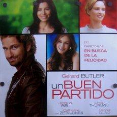 Cine: CARTEL PELÍCULA *UN BUEN PARTIDO*. Lote 51547601