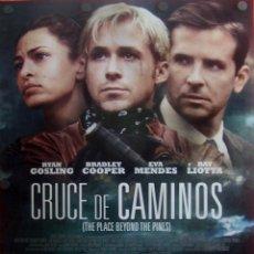 Cine: CRUCE DE CAMINOS. PÓSTER DEL FILM INTRIGA. Lote 51596200