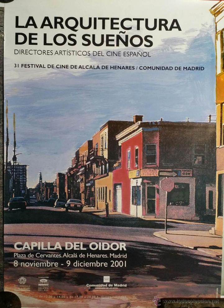Cine: CARTEL La arquitectura de los sueños (Jorge Gorostiza) / Festival de cine de Alcalá de Henares, 2001 - Foto 2 - 51601531