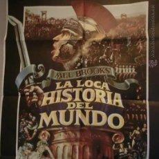 Cine: LA LOCA HISTORIA DEL MUNDO DE MEL BROOKS.. Lote 51604547