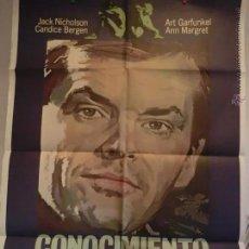 Cine: CONOCIMIENTO CARNAL CON JACK NICHOLSON. Lote 51604821