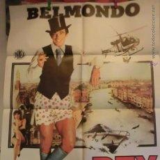 Cine: EL REY DEL TIMO CON J,PAUL. BELMONDO. Lote 51604875