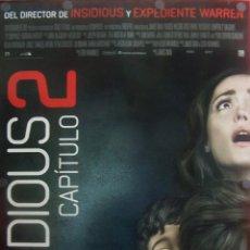 Cine: INSIDIOUS CAPÍTULO 2. CARTEL FILM SUSPENSE. Lote 51613242