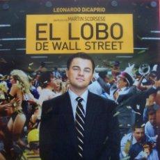 Cine: EL LOBO DE WALL STREET (PÓSTER DE LA PELÍCULA). Lote 51633863