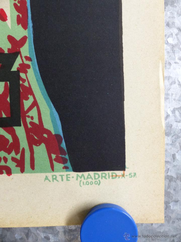 Cine: EMBRUJO - LOLA FLORES, MANOLO CARACOL, FERNANDO FERNAN GOMEZ - ilustra: LLOAN, AÑO 1957 - LITOGRAFIA - Foto 2 - 188467713