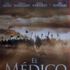 Cine: EL MÉDICO, PÓSTER DEL FILM DE AVENTURAS. Lote 51674187