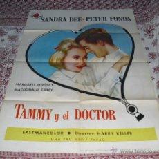 Cine: CARTEL ORIGINAL DE LA PELICULA - TAMMY Y EL DOCTOR - AÑO 1964 -. Lote 51675008