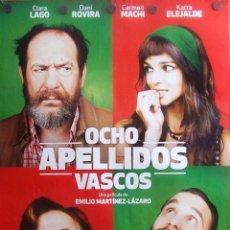 Cine: OCHO APELLIDOS VASCOS. PÓSTER DEL FILM. Lote 51675484