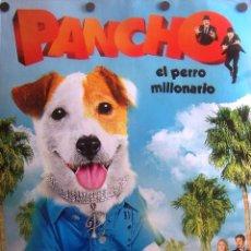 Cine: PANCHO, EL PERRO MILLONARIO PÓSTER INFANTIL. Lote 51675850