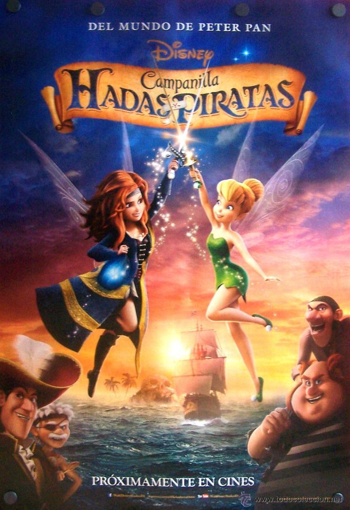 HADAS Y PIRATAS PÓSTER FILM INFANTIL (Cine - Posters y Carteles - Comedia)