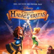 Cine: HADAS Y PIRATAS PÓSTER FILM INFANTIL. Lote 194766631