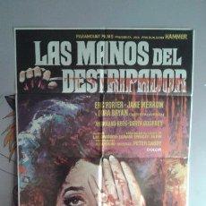 Cine: POSTER DE LA PELICULA--LAS MANOS DEL DESTRIPADOR. Lote 51770323