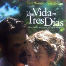 Cine: UNA VIDA EN TRES DÍAS (PRECIOSO CARTEL). Lote 51803225