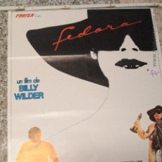 Cine: FEDORA BILLY WILDER WILLIAM HOLDEN POSTER ORIGINAL 70X100 ESTRENO. Lote 51813290