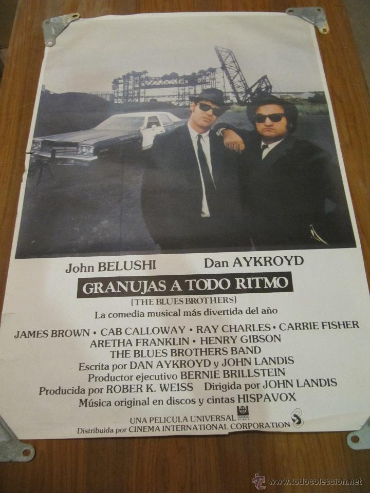 GRANUJAS A TODO RITMO. CARTEL ORIGINAL DE ESTRENO EN CINES. (Cine - Posters y Carteles - Musicales)