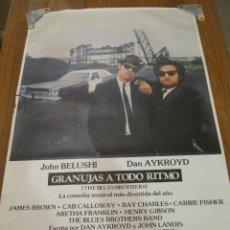 Cine: GRANUJAS A TODO RITMO. CARTEL ORIGINAL DE ESTRENO EN CINES.. Lote 51917220