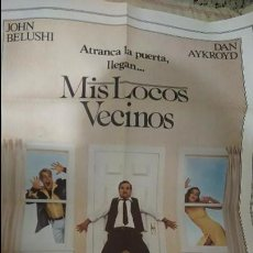 Cine: MIS LOCOS VECINOS. CARTEL. POSTER. MOVIE. 70X100. Lote 51919137