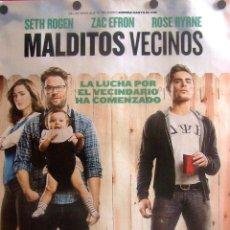 Cine: MALDITOS VECINOS CARTEL DE LA PELÍCULA. Lote 51923312