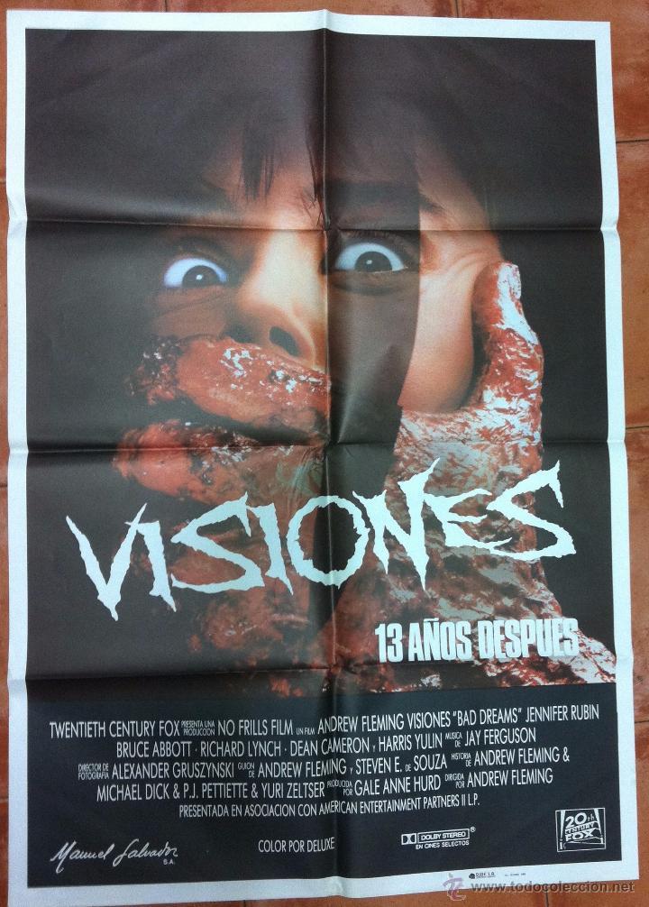 VISIONES 13 AÑOS DESPUES (Cine - Posters y Carteles - Terror)