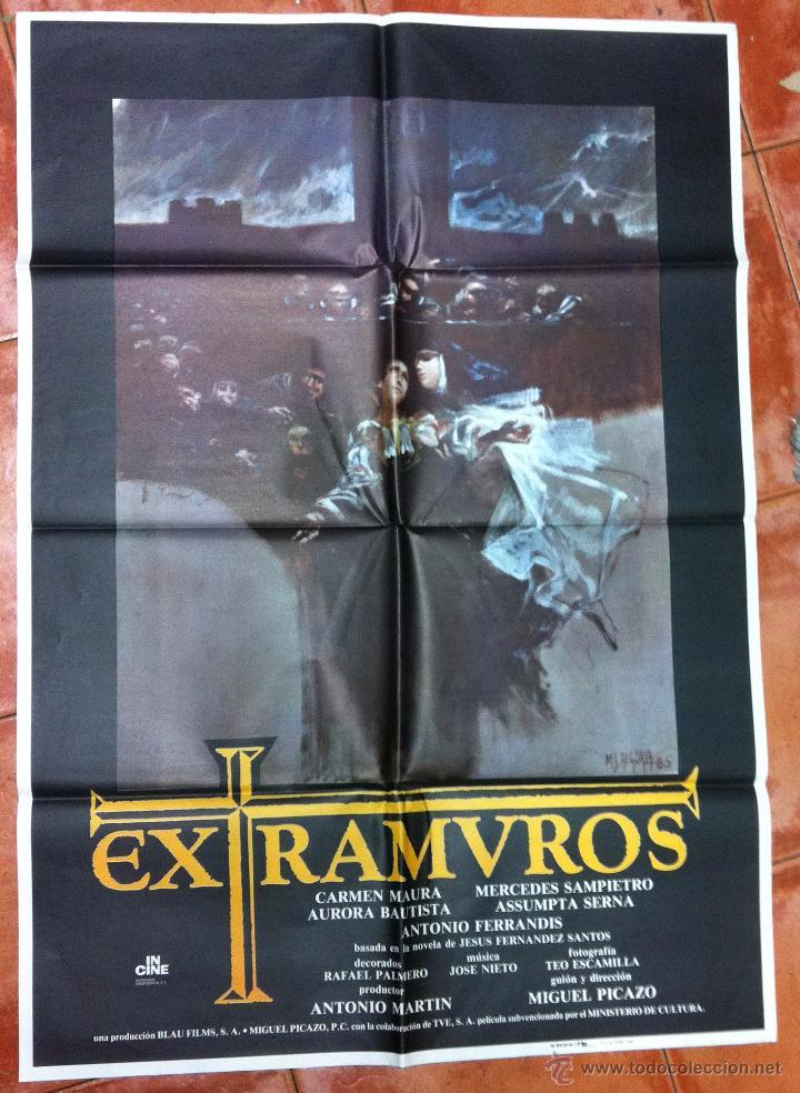 EXTRAMUROS (Cine - Posters y Carteles - Clasico Español)