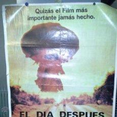 Cine: CARTEL ORIGINAL PELICULA EL DIA DESPUES. Lote 52348742