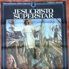 Cine: JESUCRISTO SUPERSTAR NORMAN JEWISON TED NEELEY POSTER ORIGINAL. Lote 52371813