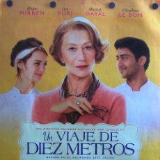 Cine: UN VIAJE DE DIEZ METROS (BONITA COMEDIA). Lote 52391521