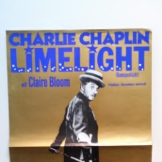 Cine: CHARLES CHAPLIN: 2 POSTERS DE CANDILEJAS. Lote 52474656