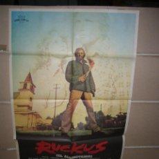 Cine: RUCKUS EL ALBOROTADOR POSTER ORIGINAL YY(1196)MODELO B. Lote 52533795