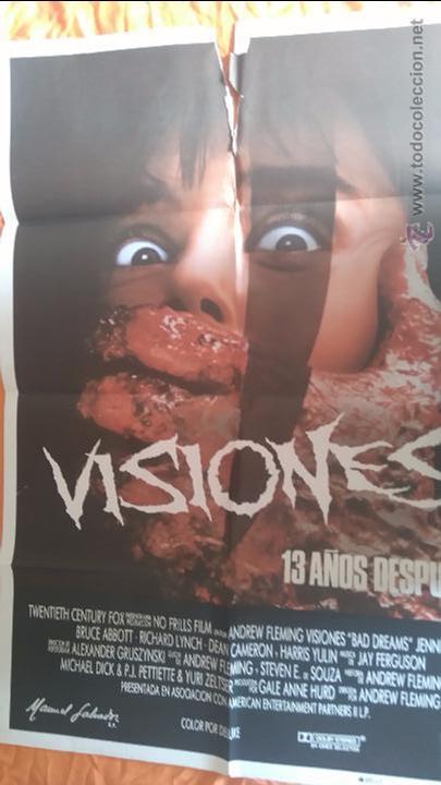 VISIONES 13 AÑOS DESPUÉS. POSTER. CARTEL. MOVIE. 70X100 (Cine - Posters y Carteles - Terror)