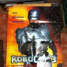 Cine: ROBOCOP 3 CARTEL ORIGINAL. Lote 52582581