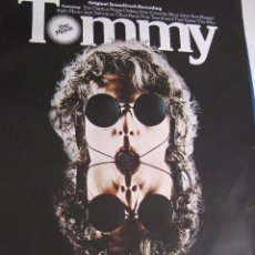 Cine: POSTER.FILM PELÍCULA TOMMY.84 X 60.THE WHO,CLAPTON,TINA TURNER.... Lote 52651290