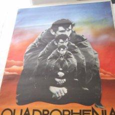 Cine: POSTER ORIGINAL QUADROPHENIA.THE WHO.100 CM X 70 CM. Lote 52652540