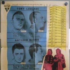 Cine: WI64 LOS TRAMPOSOS TONY LEBLANC CONCHA VELASCO PEDRO LAZAGA POSTER ORIGINAL 70X100 ESTRENO. Lote 52653793