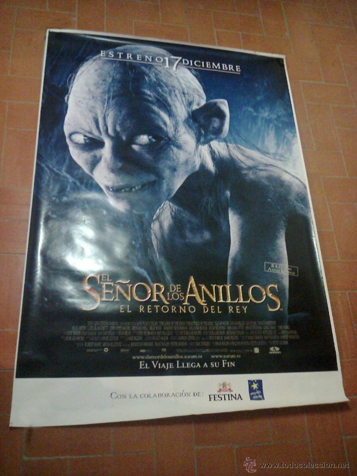 POSTER EL SEÑOR DE LOS ANILLOS-EL RETORNO DEL REY-IMAGEN GOLUM (Cine - Posters y Carteles - Aventura)