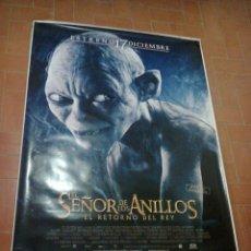 Cine: POSTER EL SEÑOR DE LOS ANILLOS-EL RETORNO DEL REY-IMAGEN GOLUM. Lote 52668225