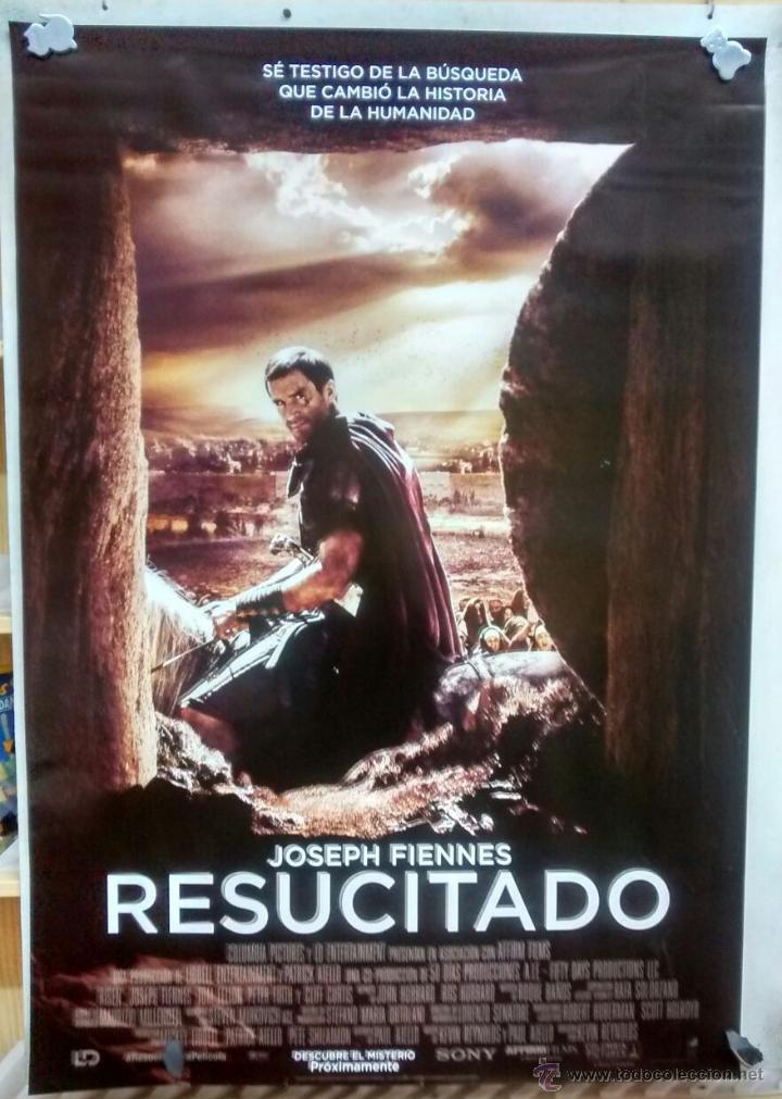 cartel de la pelicula resucitado