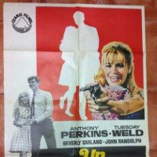 Cine: UN MARAVILLOSO VENENO ANTHONY PERKINS TUESDAY WELD-AÑO 1969-. Lote 52711765