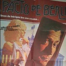 Cine: PACTO DE BERLÍN. POSTER. CARTEL. ORIGINAL. MOVIE. 70X100.. Lote 52721793