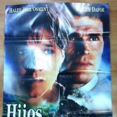 Cine: HIJOS DE UN MISMO DIOS,CARTEL DE CINE ORIGINAL 70X100 CM. Lote 55030052