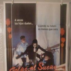 Cine: CARTEL CINE ORIG GOLPE AL SUEÑO AMERICANO (1987) / 70X100 / ROBERT DONNEY JR.. Lote 52748223