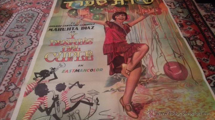 Cine: CARTEL DE CINE- Y DESPUES DEL CUPLE. Con Marujita Díaz. Versión extranjera( idioma??) - Foto 3 - 52751271