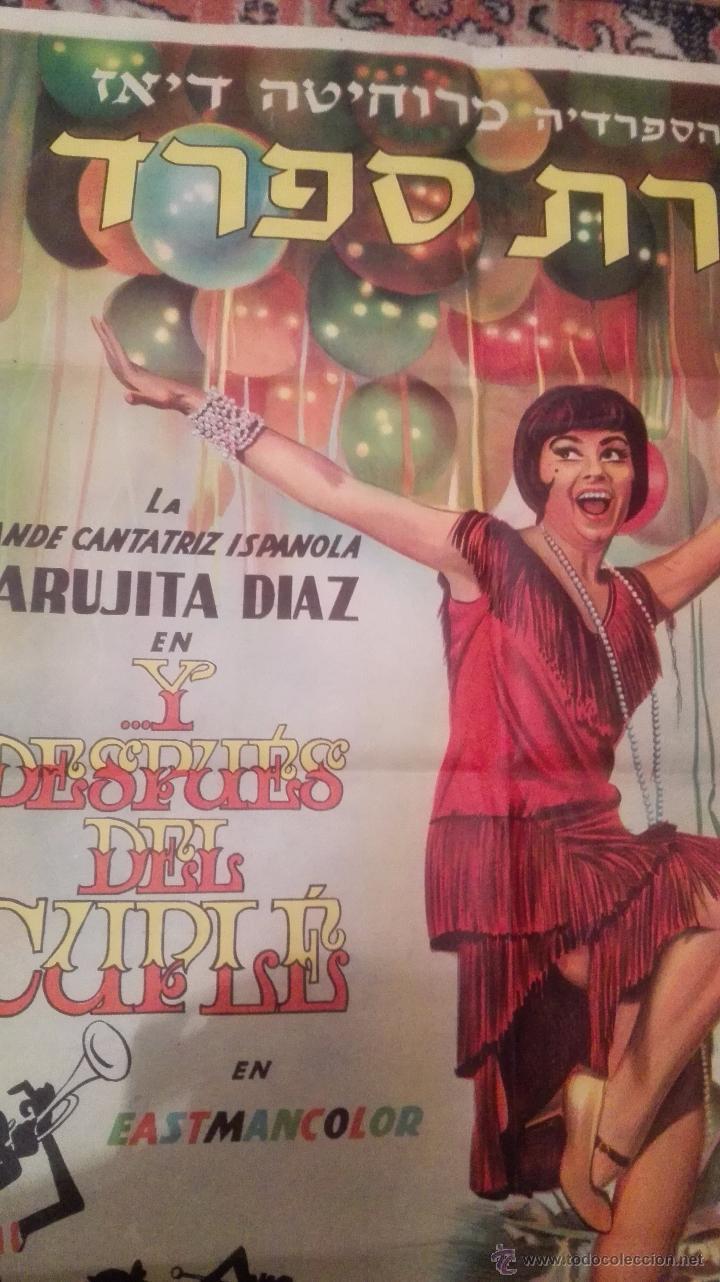Cine: CARTEL DE CINE- Y DESPUES DEL CUPLE. Con Marujita Díaz. Versión extranjera( idioma??) - Foto 4 - 52751271