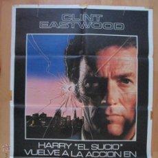 Cinema: CARTEL CINE, IMPACTO SUBITO, CLINT EASTWOOD, 1983, C763. Lote 52796392