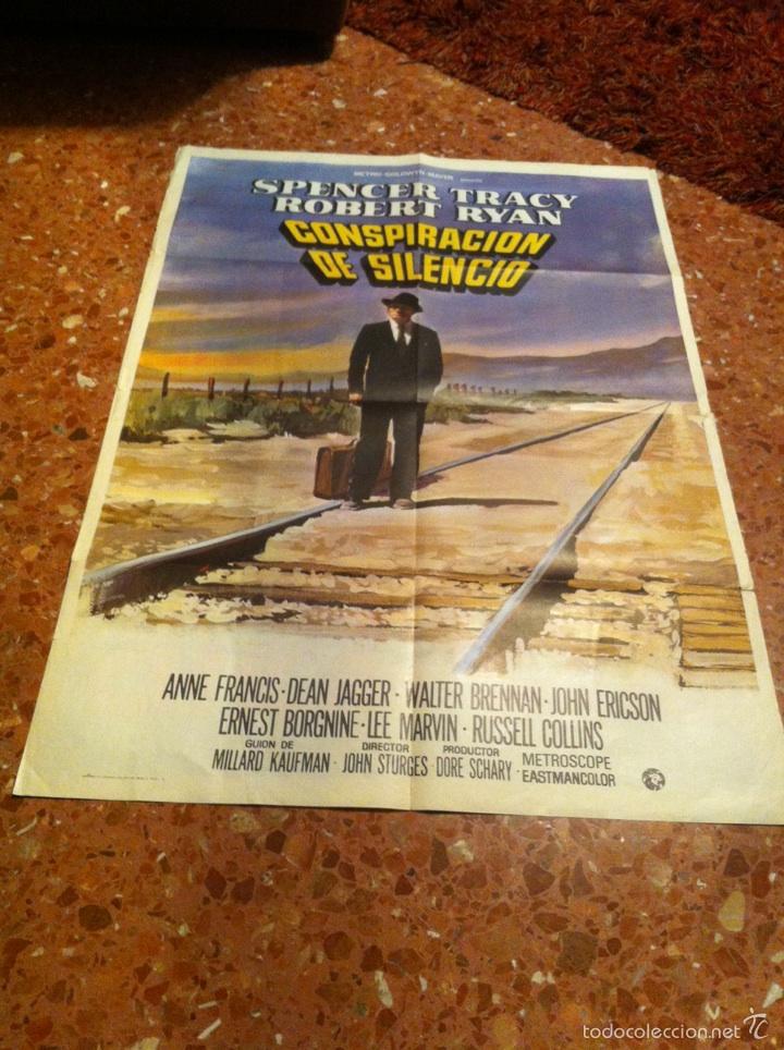 CONSPIRACION DE SILENCIO (Cine- Posters y Carteles - Drama)